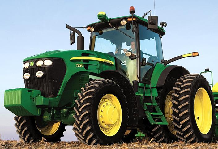 John Deere Tractor 7000 series 7200 R 200 KM z IPM 6-6 8 Bi
